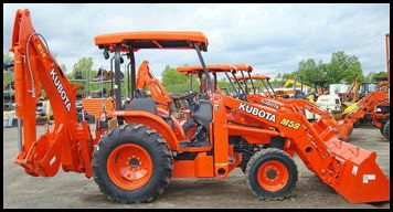 Where to find KUBOTA M59 TRACTOR LOADER W 12  BACKHOE in Cincinnati